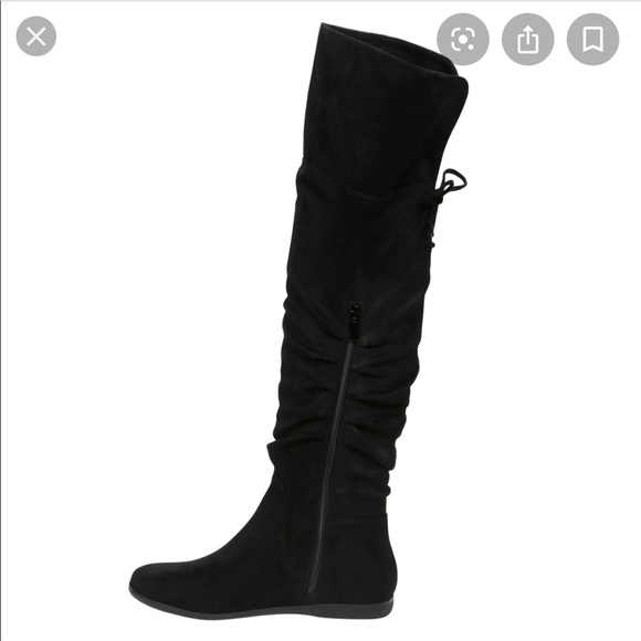 Aldo Shoes | Black Knee High Boot